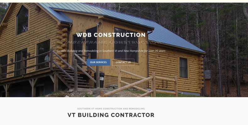Mt snow custom home builder website vermont web design for Home building websites